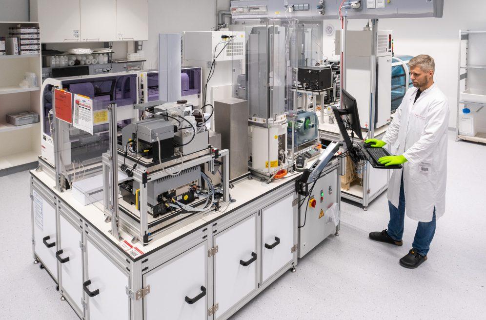 Ehemalige Bundesbank als neuer Standort des DKMS Life Science Lab
