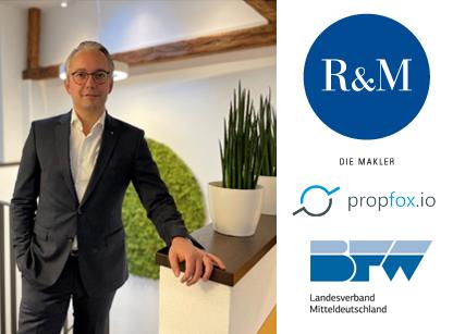 R&M Die Makler geht mit Startup propfox.io und dem BFW neue Wege